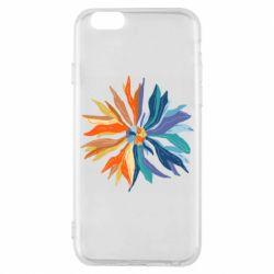 Чохол для iPhone 6S Flower coat of arms of Ukraine