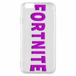 Чохол для iPhone 6S Fortnite purple logo text