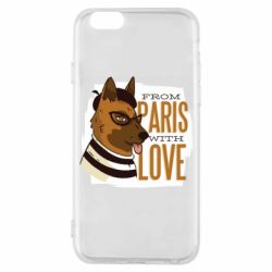 Чохол для iPhone 6S From Paris with love