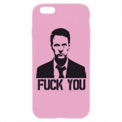 Чехол для iPhone 6S fuck you (бойцовский клуб)