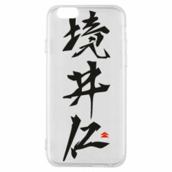 Чохол для iPhone 6S Ghost Of Tsushima Hieroglyphs