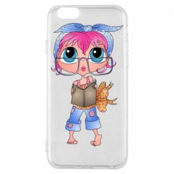 Чохол для iPhone 6S Girl with a book