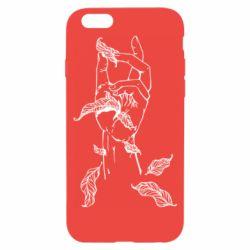 Чохол для iPhone 6S Hand with leafs