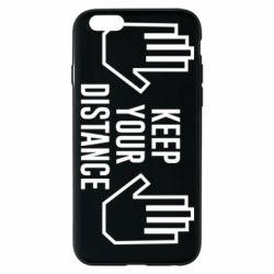 Чохол для iPhone 6S Keep your distance