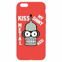 Чехол для iPhone 6S Kiss metal