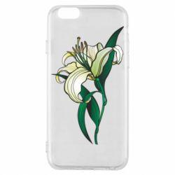 Чохол для iPhone 6S Lily flower