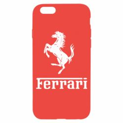 Чохол для iPhone 6S логотип Ferrari