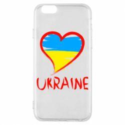 Чехол для iPhone 6S Love Ukraine