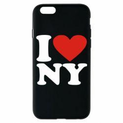 Чохол для iPhone 6S Люблю Нью Йорк