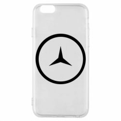 Чохол для iPhone 6S Mercedes new logo
