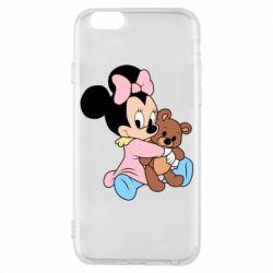 Чохол для iPhone 6S Minnie And Bear
