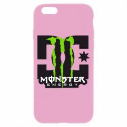 Чехол для iPhone 6S Monster Energy DC