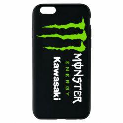 Чохол для iPhone 6S Monster Energy Kawasaki