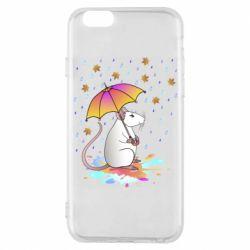 Чохол для iPhone 6S Mouse and rain