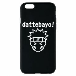 Чохол для iPhone 6S Naruto dattebayo!