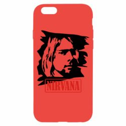 Чехол для iPhone 6S Nirvana Kurt Cobian