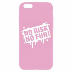 Чохол для iPhone 6S No Risk No Fun