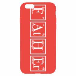 Чохол для iPhone 6S Тато - Таблиця Менделєєва