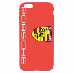 Чехол для iPhone 6S Porsche