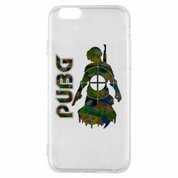 Чохол для iPhone 6S Pubg camouflage silhouette