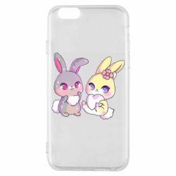 Чохол для iPhone 6S Rabbits In Love