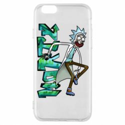 Чохол для iPhone 6S Rick and text Morty