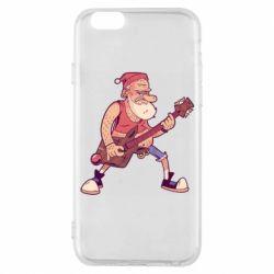 Чохол для iPhone 6S Rock'n'roll Santa
