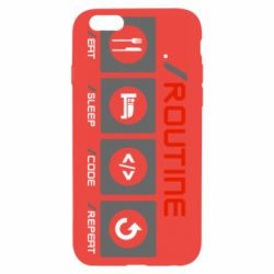 Чохол для iPhone 6S Routine code