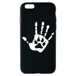 Чохол для iPhone 6S Рука вовка