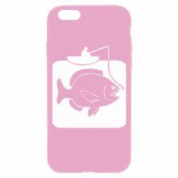 Чохол для iPhone 6S Риба на гачку
