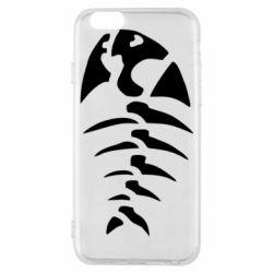Чохол для iPhone 6S скелет рибки