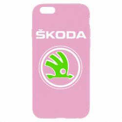 Чехол для iPhone 6S Skoda Bird