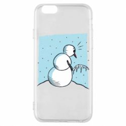 Чохол для iPhone 6S Snowman. It's Cold!