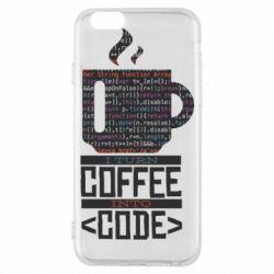 Чохол для iPhone 6S Сoffee code