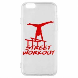 Чехол для iPhone 6S Street workout
