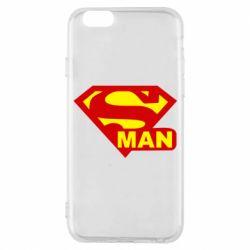 Чехол для iPhone 6S Super Man