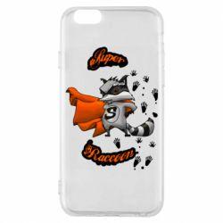 Чохол для iPhone 6S Super raccoon