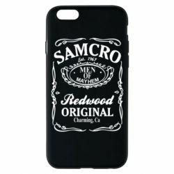 Чохол для iPhone 6S Сини Анархії Samcro