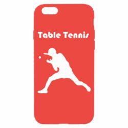 Чохол для iPhone 6S Table Tennis Logo