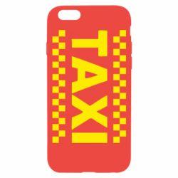 Чехол для iPhone 6S TAXI