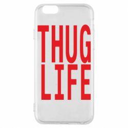 Чохол для iPhone 6S thug life