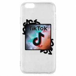 Чохол для iPhone 6S Tik Tok art