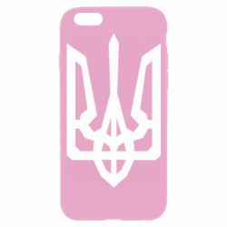 Чохол для iPhone 6S Trident with curved lines