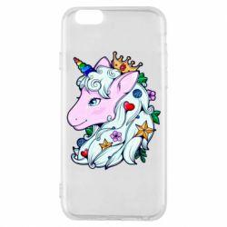 Чохол для iPhone 6S Unicorn Princess