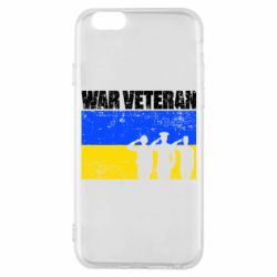 Чохол для iPhone 6S War veteran