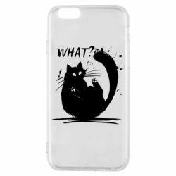 Чохол для iPhone 6S What cat