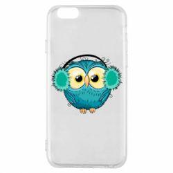 Чохол для iPhone 6S Winter owl