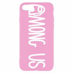 Чохол для iPhone 7 Among Us Logo