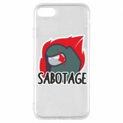 Чохол для iPhone 7 Among Us Sabotage