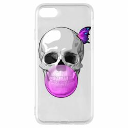 Чохол для iPhone 7 Butterfly on the skull
